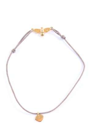 Thomas Sabo Armband lichtgrijs-goud casual uitstraling