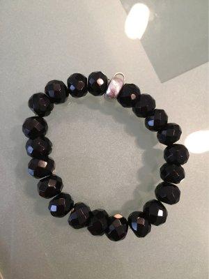 Thomas Sabo Bracelet argenté-noir