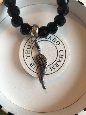 Thomas Sabo Silver Bracelet black-silver-colored