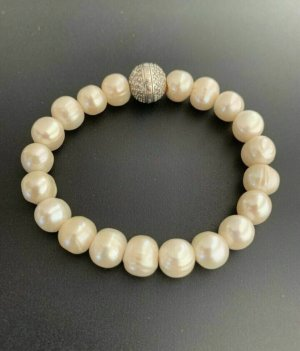 Thomas Sabo Pearl Bracelet white-silver-colored