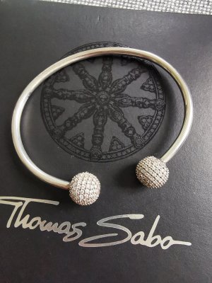 Thomas Sabo Mouwband wit-zilver