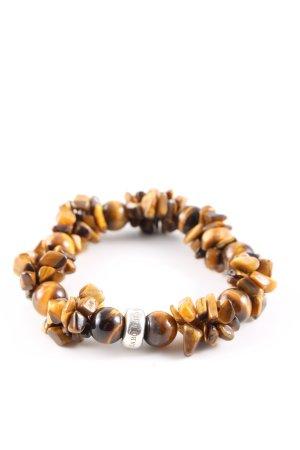 Thomas Sabo Bracelet à breloques brun-orange clair gradient de couleur