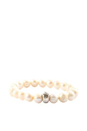 Thomas Sabo Bracelet à breloques blanc cassé style décontracté