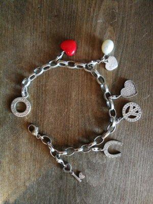 Thomas Sabo Bracciale charm argento