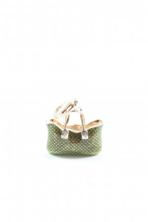 Thomas Sabo Dije verde-color plata look casual