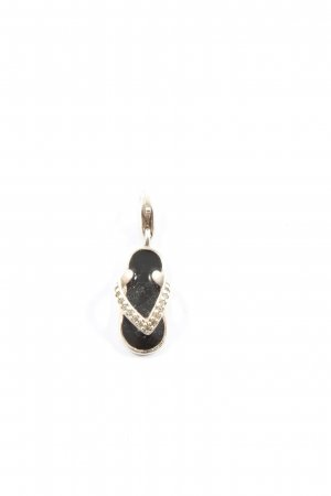 Thomas Sabo Dije color plata-negro look casual