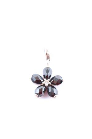 Thomas Sabo Charm schwarz Blumenmuster Elegant
