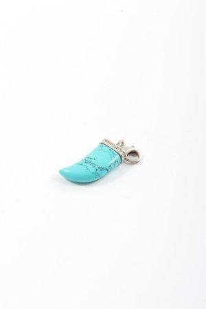 Thomas Sabo Breloque turquoise-argenté style décontracté