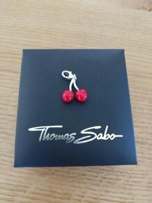 Thomas Sabo Ciondolo argento-rosso