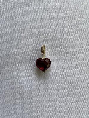 Thomas Sabo Charm silver-colored-dark red