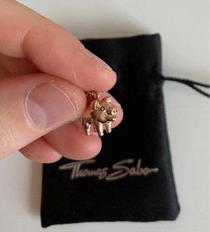 Thomas Sabo Colgante color rosa dorado metal