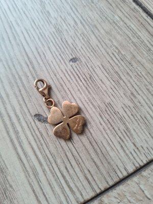 Thomas Sabo Charm Anhänger Kupfer Kleeblatt Rosegold