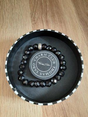 Thomas Sabo Bracelet en perles noir
