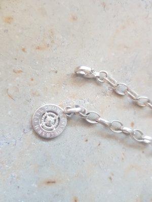 Thomas Sabo Braccialetto sottile argento-grigio chiaro