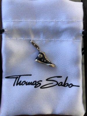 Thomas Sabo Breloque noir-argenté