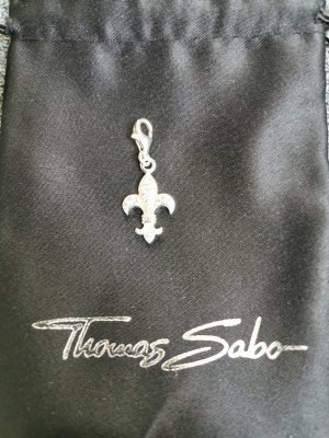 Thomas Sabo Dije blanco plata verdadero
