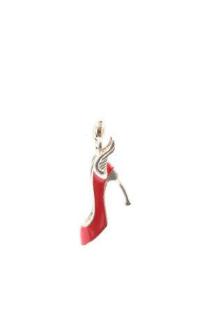 Thomas Sabo Ciondolo rosso-argento stile casual
