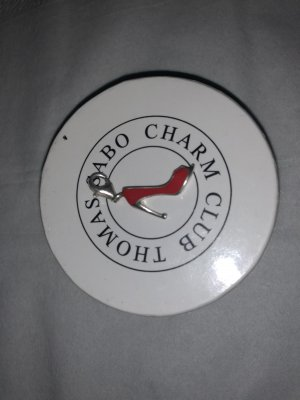 Thomas Sabo Dije color plata-rojo