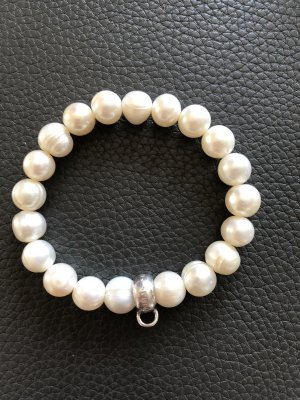 Thomas Sabo Bracelet blanc-argenté