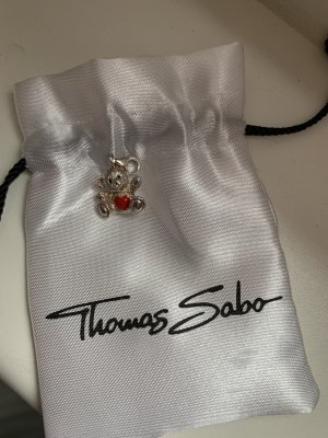 Thomas Sabo Breloczek srebrny-czerwony