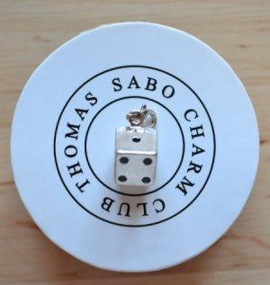 Thomas Sabo Charm Bracelet black-silver-colored