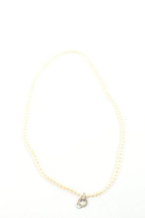 Thomas Sabo Collar estilo collier blanco puro elegante