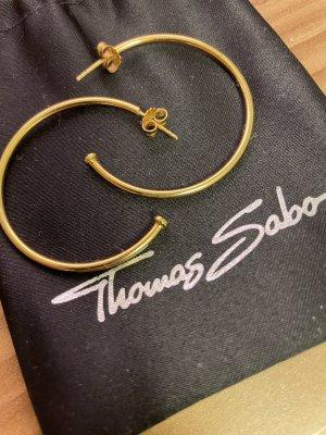 Thomas Sabo Pendientes tipo aro color oro