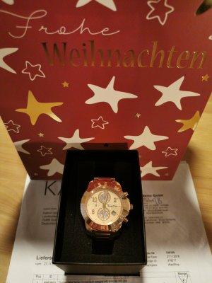 Thomas Sabo Damen Armbanduhr Chronograph AIR-WA0192 40mm roségold, NP 250! NEU!
