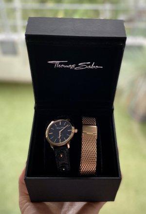 Thomas Sabo Damen-Armbanduhr Roségold