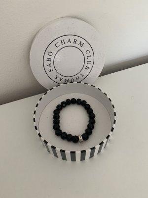 Thomas Sabo Pearl Bracelet black