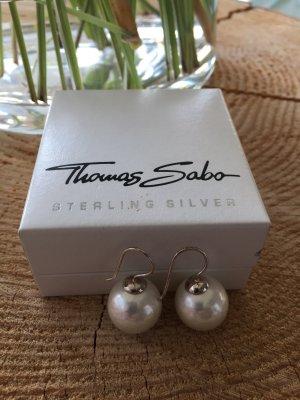 Thomas Sabo echt Silberhänger synth.Perle ca.12mm groß