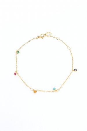 Thomas Sabo Goldarmschmuck goldfarben Casual-Look