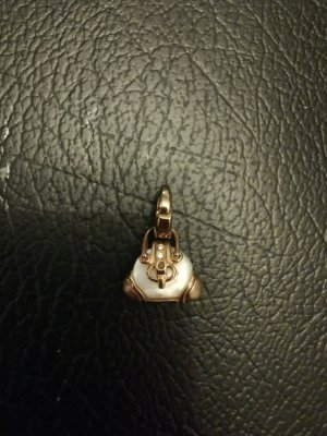 Thomas Sabo goldene Tasche Anhänger