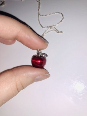 Thomas Sabo Necklace silver-colored-red