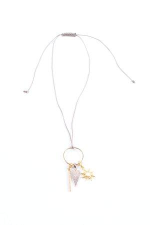 Thomas Sabo Halskette goldfarben-hellgrau Glanz-Optik