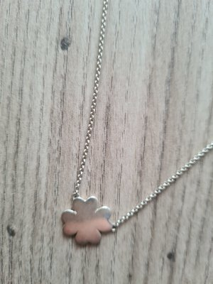 Thomas Sabo Kette Halskette Kleeblatt  Silberkette