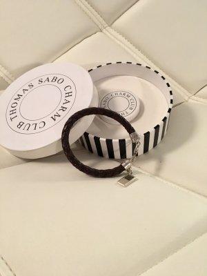 Thomas Sabo Bracelet brun noir-brun foncé