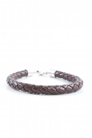 Thomas Sabo Leather Bracelet brown casual look