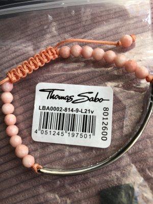 Thomas Sabo Braccialetto in argento argento-rosa pallido