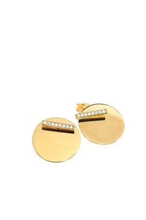"Thomas Sabo Orecchino a vite ""Ear Studs Together Coin"" oro"
