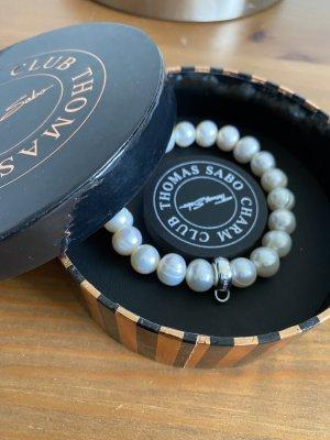 Thomas Sabo Bracciale di perle bianco