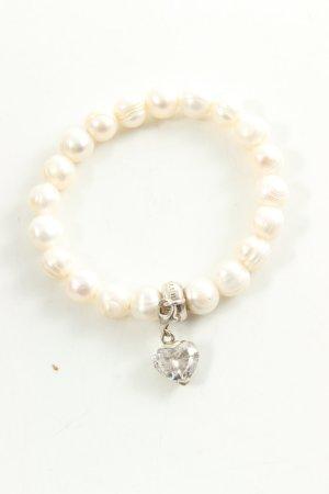 Thomas Sabo Bracelet en perles crème élégant