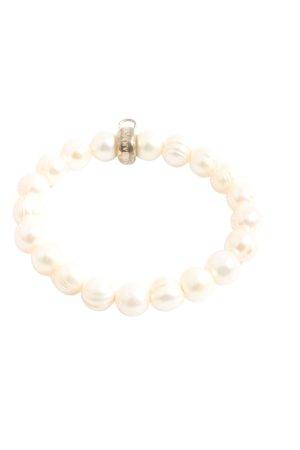 Thomas Sabo Pearl Bracelet cream casual look