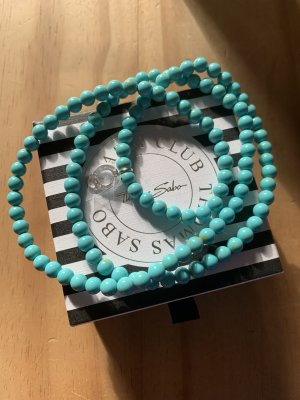Thomas Sabo Pearl Necklace light blue-turquoise