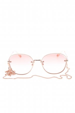 Thomas Sabo runde Sonnenbrille pink Casual-Look