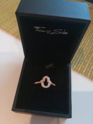 Thomas Sabo Gold Ring rose-gold-coloured