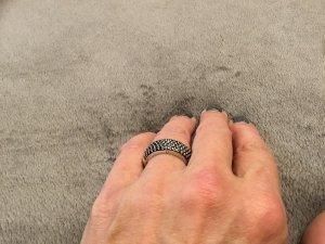 Thomas Sabo Zilveren ring zwart
