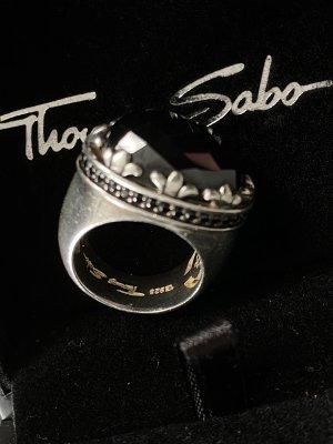 Thomas Sabo Bague en argent argenté