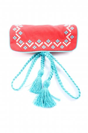 Thomas Sabo Key Case red-turquoise graphic pattern casual look