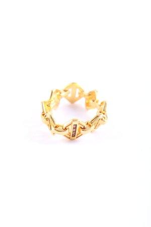 Thomas Sabo Zilveren ring goud casual uitstraling
